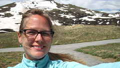 Getting blown away at Independence Pass