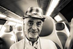 ... (pino piedimonte) Tags: portrait bw train blackwhite uncle rip biancoenero miozio neroametà licwip pinopiedimonte giuseppepiedimonte