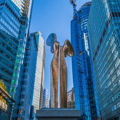 Nike (Vlad_Kyr) Tags: canada art statue vancouver downtown goddess nike
