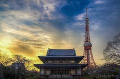Sunset (Haru70) Tags: sunset sea sky cloud sun love japan happy view kamakura   kanagawa hdr