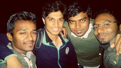 brothers from different mothers..love them all (imsid_02) Tags: life friends awesome idiots selfie lifetime yaari 4idiots
