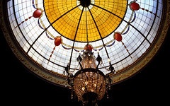 img027 (Yannick Mackiewicz) Tags: 35mm gold hotel nikon fuji 28mm australia stainedglass bluemountains dome fujifilm fujichrome provia e6 fa katoomba provia100f nikonfa reversalfilm 28mmf28ais carringtonhotel