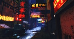 Kowloon (Trin in SL - On/Off) Tags: china urban art yahoo google artwork asia flickr neon best kowloon