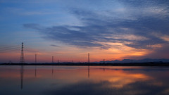 Sunset. 夕陽