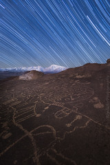 Sky Forever (Jared Ropelato) Tags: art night landscape star ancient native cliffs nativeamerican petroglyph rockart easternsierras ancientart 2015 skyrock jaredropelato