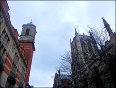 Two Towers .. (** Janets Photos **) Tags: uk history architecture towers churches oldbuildings hull takenwithhardwork