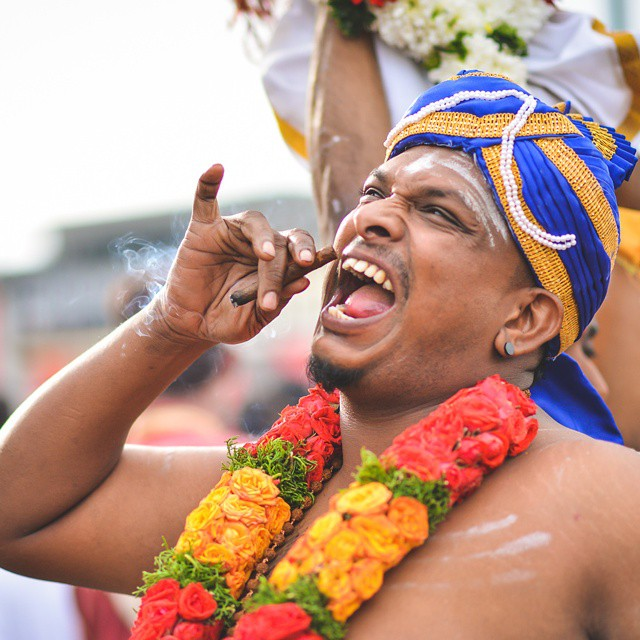 Today CHAP GOH MEI I am gonna eat everything on the table!! Muahahahaha!! #imaginarymonolog #设计对白 #throwback  A shot from my #thaipusam2015 photo series. More HD photos on the blog ya!! So fast today is the last day of CNY already. How many times have y