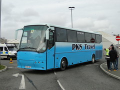 PKS Travel Bova Futura Coach AC54 ABC (5asideHero) Tags: travel coach wanderers abc wolves futura pks wolverhampton ac54 bova