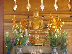 Buddha at Pha That Luang