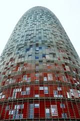TORRE GLÒRIES (abans TORRE AGBAR) (Yeagov_Cat) Tags: 2015 agbar avingudadiagonal b720 arquitectos barcelona catalunya jeannouvel torre torreagbar 2005 b270 diagonal torreglòries glòries