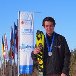 Devin Mittertreiner (FAST), 2nd in Ski Cross at CWG PHOTO CREDIT: Jan Donald
