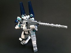 Lego Custom Mecha: Caliburn (funnystuffs) Tags: scale robot lego minifig custom ideas mecha mech minifigure caliburn funnystuffs