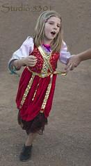 Ren girl dancing 8785PatLam. (Studio5301) Tags: costumes festival kids children drums kilt bellydancer drummer faire clan renaissancefaire chld arizonarenaissancefestival fairycostumes studio5301 festivalsinphoenix patricialam patricialamphotographycom