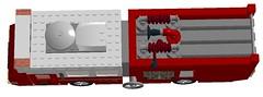 The Fire Truck 04 (mcs157218) Tags: atlanta ford water truck season walking dead fire lego 5 glenn rick abraham hose eugene tvshow amc zombies porter walkers rosita espinosa the tvseries rhee grimes
