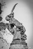 El ángel caído (I) (adrivallekas) Tags: madrid wallpaper blackandwhite sculpture blancoynegro statue angel canon spain 666 bn devil drama retiro b6w parquedelretiro angelcaido 70d elangelcaido canon70d