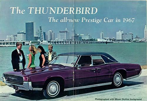 1967 Ford Thunderbird 4 Door Sedan