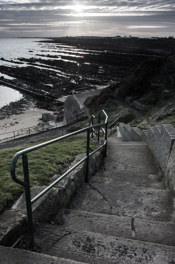 Stairing down to the Beach