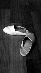 Old Slippers (alanjmaxwell) Tags: old dirty slippers