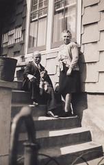 Pasquale and Caterina, 1940's (Robert Barone) Tags: newyorkcity newyork vintage grandmother bronx grandfather 1940s caterina grandparents pasquale thebronx firstgeneration italianamerican velardo fotodepoca italoamericani pasqualedisisto caterinadisisto