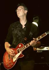 Tonight Im a Rock n Roll Star (parkerbernd) Tags: berlin rock les bar kreuzberg germany paul star concert guitar live gig amp junction marshall pack onstage sunburst sherry gibson bernd parkers rocknroll schunack