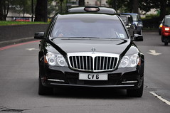 Maybach 62 S 2011 (D's Carspotting) Tags: maybach 62 s 2011 united kingdom london black 20110617 cv6