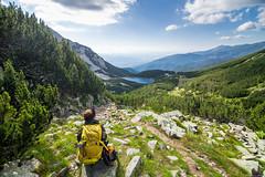 Sinanitsa, Pirin, Bulgaria (Dankish) Tags: bulgaria summer lake hut trail rocky back backpacking hiking nature sinanitsa 6d 16mm wide