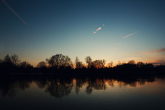 canadian sunset (thephpjo) Tags: ifttt 500px sunset ottawa canada river water sky