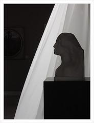 Silhouette 2 / GAM - Milan (PtiteArvine) Tags: milan silhouette statue noiretblanc gam buste