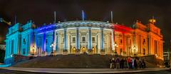 Victorian Parliament, Australia (les.butcher) Tags: french colours flag victorian australia parliament melbourne victoria prayfornice