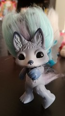 howlie 2 (meimi132) Tags: zelfs zelf series6 cute adorable trolls howlie grey wolf dog paws