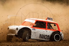 North Wales Autograss (MPH94) Tags: north wales autograss nw car cars auto motor sport motorsport race racing motorracing dirt dirty dust dusty canon 500d 70300 offroad off road mini cooper