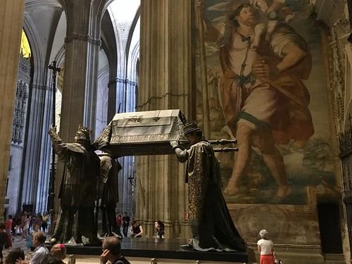 Tomb of Christopher Columbus, Catedral de Sevilla