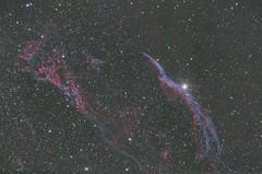 NGC6960 Veil Nebula & Pickering's Triangle (DeepSkyDave) Tags: astrophotography astrofotografie night sky nacht himmel canon eos 6d astrodon mod deepsky low light cirrus nebel veil nebula star red losmandy g11 astrometrydotnet:id=nova1640155 astrometrydotnet:status=solved
