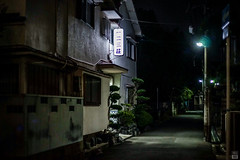 Apartment (yasu19_67) Tags: street japan 50mm alley apartments atmosphere osaka nightview digitaleffects photooftheday filmlook filmlike vsco vscofilm sony7ilce7 schneiderrolleislxenon50mmf18