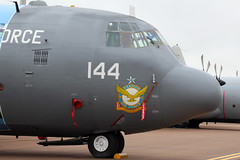 Lockheed C-130E Hercules Pakistan Air Force 4144 (NTG's pictures) Tags: lockheed c130e hercules pakistan air force 4144 raf fairford riat2016