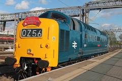 D9009 0Z56 (Neil Altyfan - Railway Photography) Tags: d9009 alycidon d213 andania 0z56 grosmont nymr crewegrestybridge drs crewe 050716