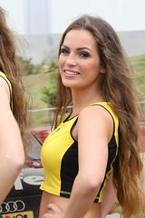 DTM GRIDGIRL (ronaldligtenberg) Tags: dtm gridgirl 2016 circuit park zandvoort cpz showgirl people woman beautiful ladies girl promogirl lady hot sexy promo model pretty hostess beauty cleavage pitbabes grid girls