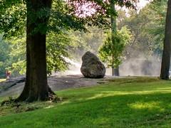 Glacial erratic in Central Park, NY (d_rudofsky) Tags: centralpark