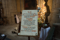 Le Plerin (MrBlackSun) Tags: abbey abbaye abbatiale saintrobert chaisedieu clement clementvi france auvergne hauteloire nikon d810 nikond810