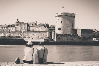 Relaxing in La Rochelle