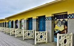Deauville ...la  Promenade des Planches  ... (2) (miriam ulivi) Tags: miriamulivi nikond7200 france normandie deauville promenadedesplanches cabine cabanesdeplage ngc beachhuts