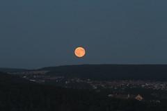 Moonrise (Pavel Vanik) Tags: czechrepublic bohemia plze pilsen moonrise moon evening nightfall city canon 7d sigma150600c