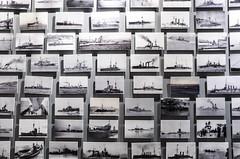 Black and White Horizons in War (Allison Mickel) Tags: nikon d7000 adobe lightroom edited turkey gallipoli history museum war wwi battle photographs battleship warship