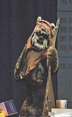 Wicket the Ewok (Star Wars) (Kay Bea Chisholm) Tags: wicket manchester 2016 expo comicon mcm returnofthejedi starwars warwickdavis ewok