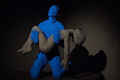 The Art Of The Bricks (michael_hamburg69) Tags: hamburg germany deutschland ausstellung exhibition lego shanghaiallee7 nathansawaya artist knstler legosteine lego theartofthebrick bricks brick steine kulturkompagnie grosekunstauskleinensteinen taotb kunstobjekt kunst art hafencity sculpture skulptur