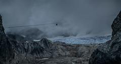 Glaciar de la Marmolada (dgr) Tags: nikon d5200 tele paisaje landscape telecabina marmolada cabin cabina niebla fog foggy montaa mountain roca rock piedra stone glaciar nieve snow dark oscuro italia italy lagodifedaia