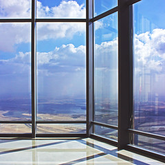 Window (Maryam Arif) Tags: perception perspective composition window maryamarif contemporary architecture space clouds reflection shadow light contrast conceptual concept photography visualart fineart geometry gradient graphic thought time human mind structure silence significance levels lines observation insight artistic atmosphere art angle color visual