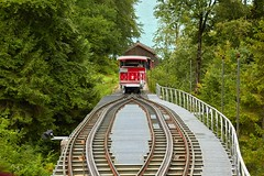 Giessbachbahn (damianschaerer) Tags: ancient antique bern car design engineering freight funicular giessbach historic history lake mountain old railway swiss switzerland technology transportation vintage wagon wheel