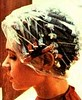 plasticap (Ditton_uk) Tags: hair rods rollers curlers cap hood perm woman
