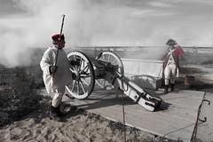 Canon Shot at Fort Michilimackinac (DJ Wolfman) Tags: canon soldier michigan fortmichilimackinac lakemichigan olympus olympuspenf micro43 michiganfavorites